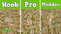 Noob VS Pro VS Modder - Building the perfect suburb in Cities: Skylines