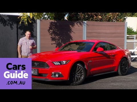 2016 Ford Mustang GT Fastback manual review   road test video