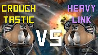 S.W.I.N.E: Multiplayer | Crouchtastic vs. Heavylink -