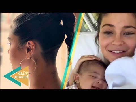 Kylie Jenner BREAKS INTERNET With Baby Stormi! Selena Gomez REVEALS Reason WHy She Shaved Head! | DR