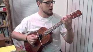 Walk that Lonesome Valley -Baritone Ukulele w/Slide and Alt. tuning