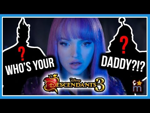 10 Theories About Mal's Dad in DESCENDANTS 3 - Who Is Mal's Father?!?