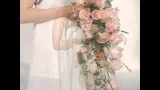 Ниспадающий свадебный букет 2