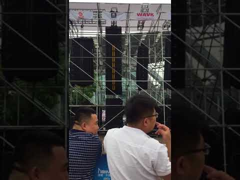 Guangzhou Prolight+sound Exhibition ---TPA Outdoor Line array contest