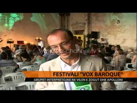Festivali 'Vox Baroque' - Top Channel Albania - News - Lajme