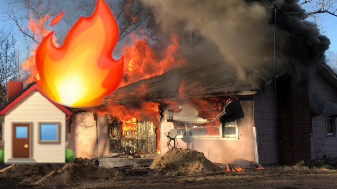 WE SET A HOUSE ON FIRE!!! ***OMG***