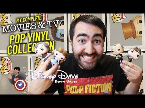 My Complete MOVIES & TV Pop Vinyl Collection