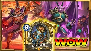Hearthstone: Big Warlock Is Insane | Why Is This Combo Allowed? Rise of Shadows | Wild