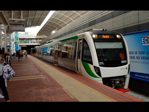 Trains And Buses At Joondalup - Perth Transport