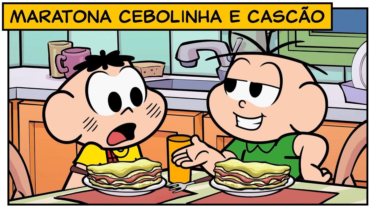 Download Maratona Cebolinha e Cascão   Turma da Mônica