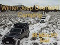Winter Overland Car Camping Adventure - 90 Miles Off Road in the Central Oregon Desert