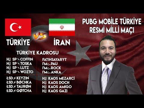 TÜRKİYE vs İRAN - PUBG Mobile