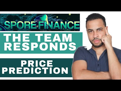 SPORE FINANCE HUGE POTENTIAL THE TEAM RESPONDS AND PRICE ACTION