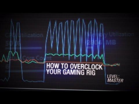 GeForce Garage: Cross Desk Series, Video 7  – How To Overclock Your Gaming Rig