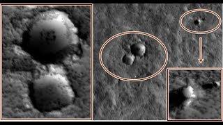 Alien Base on Mars South Pole