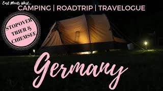 Camping in Germany | NO ELECTRICITY + Day 3 challenges | Jeroen and Kyn