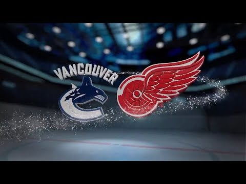 Vancouver Canucks vs Detroit Red Wings - October 22, 2017 | Game Highlights | NHL 2017/18 Обзор