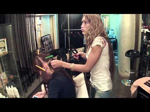 Наращивание волос.  Алена Ашмарина