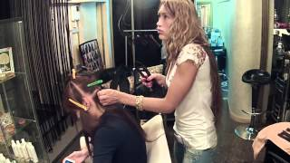 Наращивание волос.  Алена Ашмарина(Наращивание волос. perfecthair.ru использована музыка alex clare - too closee., 2012-05-27T08:14:35.000Z)