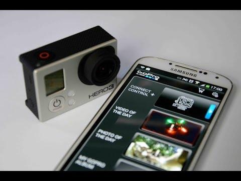 Gopro Smartphone APP - für GoPro Hero 3 - Installation, Erklärung und Test Deutsch [HQ] [HD]