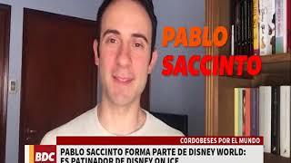 PABLO SACCINTO en BIEN DE CORDOBA POR CANAL 10 . CORDOBESES POR EL MUNDO