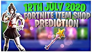 Fortnite Item Shop Prediction - 12 July 2020