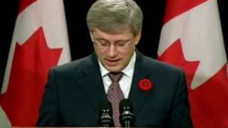 Repeat youtube video Canadian PM: I Will Defend Israel 'whatever the cost'