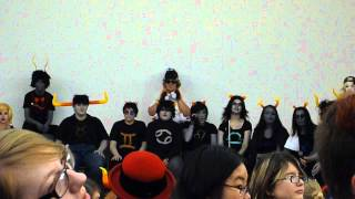 """HS panel """"THIS IS STUPID"""" Animethon 19(4/6)"""