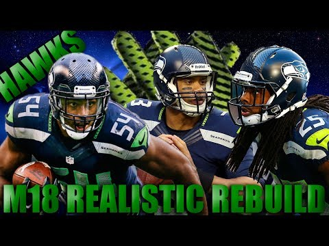 Historically Great Defense! Realistically Rebuilding the Seattle Seahawks! | Madden 18 Franchise