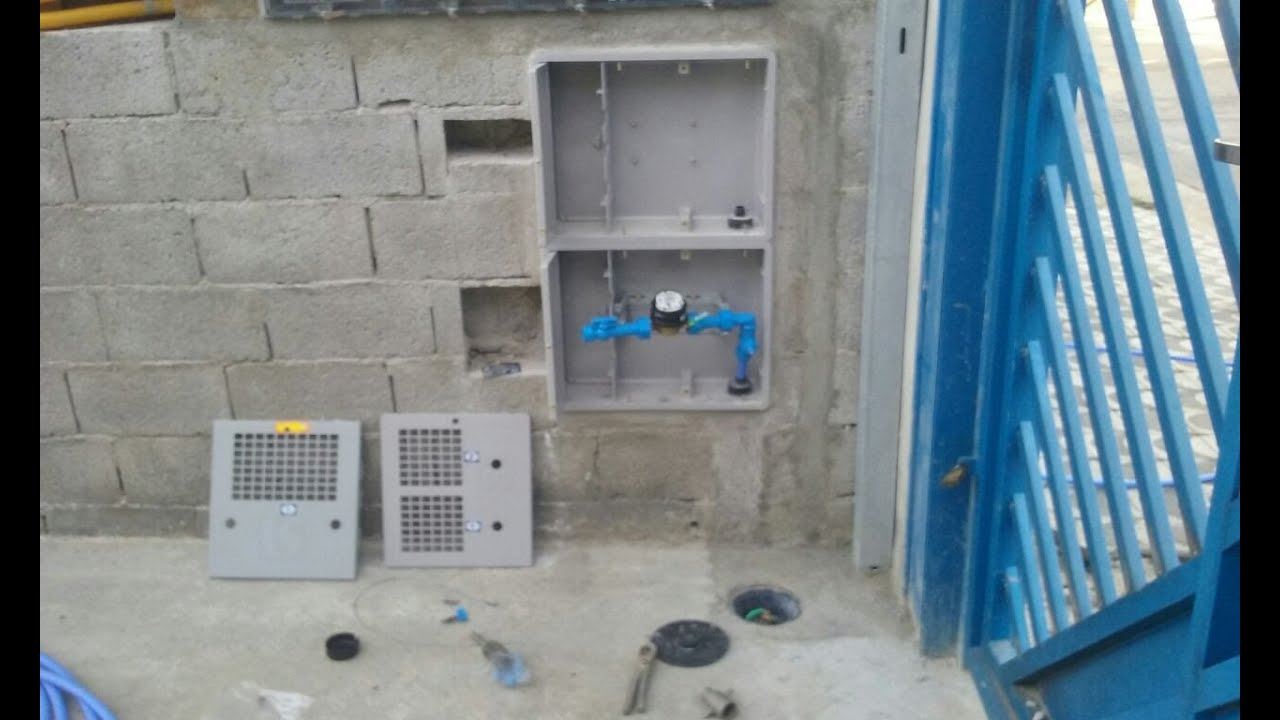 como se instalar caixa uma da Sabesp 2018,Venda e Instalação padrão Pedido de Ligação FTADL