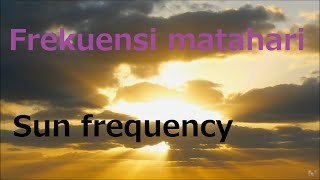 126.22Hz pure tone Frequency of the sun 単音 太陽の周波数