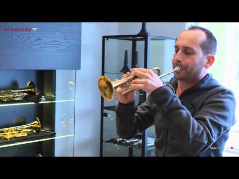 Schagerl Piccolo Trumpet Model Berlin - Soundsample - by Jürgen Ellensohn