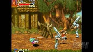 Capcom Classics Collection Reloaded Sony PSP Gameplay -