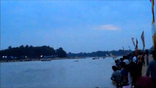 Final Segitiga Juragan Kuantan vs Pulau Laghe di Sentajo Raya @Pacu Jalur Kuantan Singingi