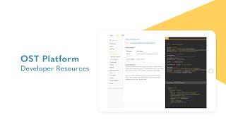 OST Platform - Developer Resources
