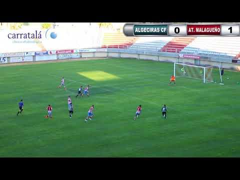 📺 El Algeciras CF se presenta ante su afición con una derrota con el Atlético Malagueño