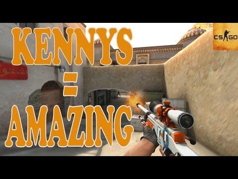 CS:GO - Best of kennyS = AMAZING (Sick Frags, AWP, Inhuman Reactions, Flickshots) BEST AWP