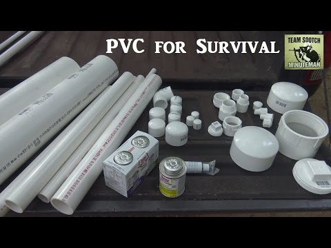 PVC 17 Uses for Survival