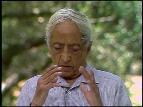 On the nature of intelligence | J. Krishnamurti