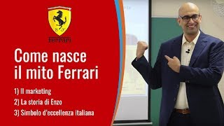 Nicola Di Grazia racconta Come nasce il mito Ferrari