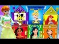 Anna Disney Princesses Classic Outfits Dollhouse Cosplay Best Dress Up and Matching