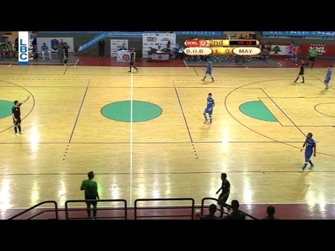 XXL Energy Futsal Championship - Bank Beirut v/s Mayaden - 14/4/2016