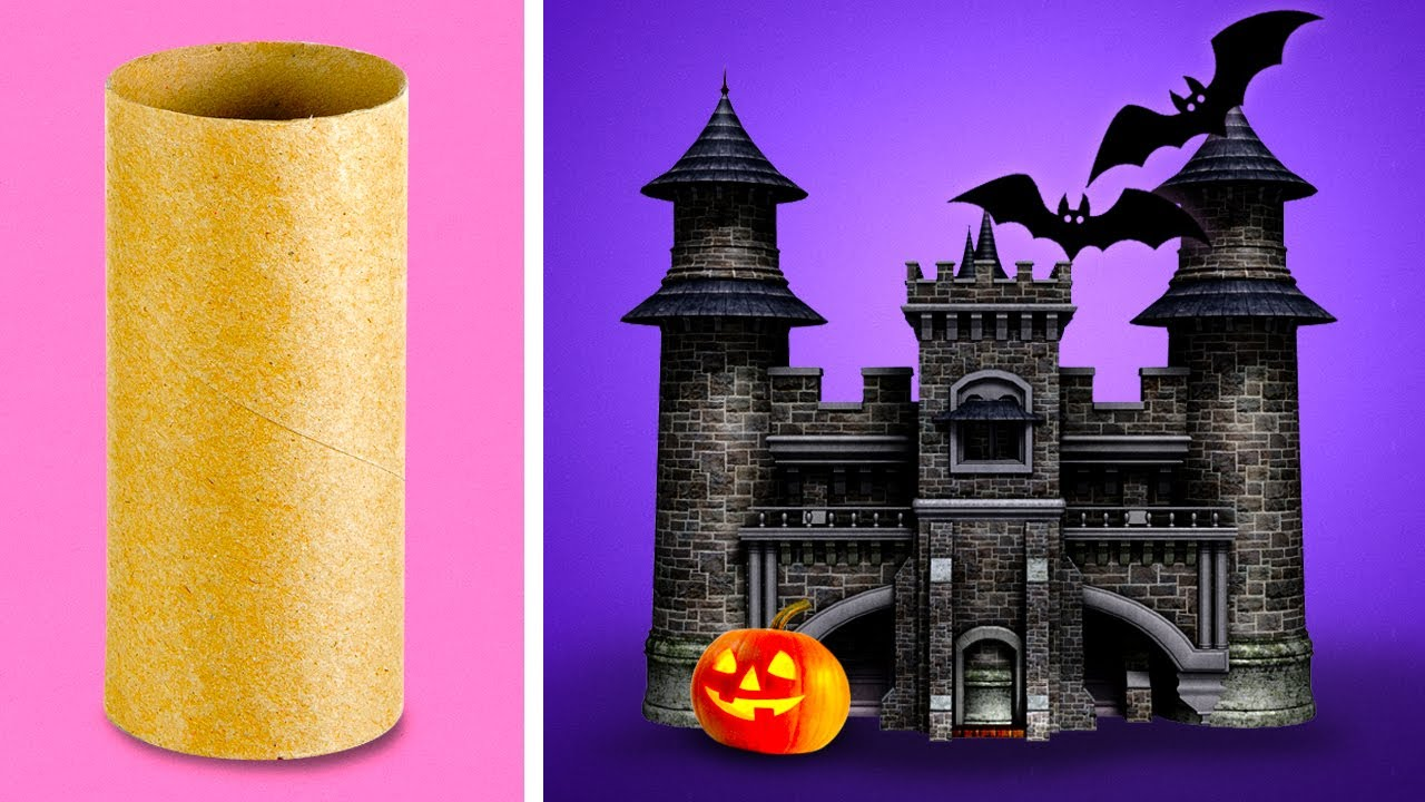 Halloween Bastelideen Youtube.33 Spooky Crafts For Halloween Youtube