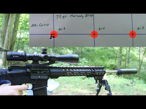".223/5.56 - White Oak Armament 18"" SPR Barrel Break-In and Accuracy Tests"