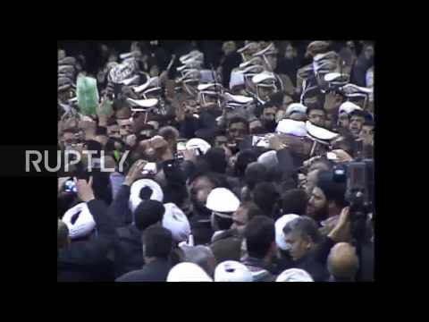 Iran: Mourners honour former Iranian President Rafsanjani in Tehran