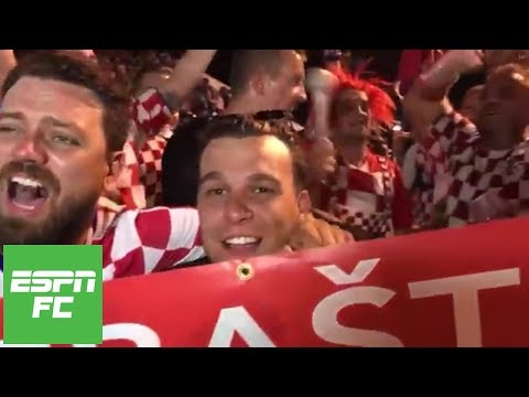 Croatian fans celebrate as Messi lacks involvement during Argentina's World Cup loss | ESPN FC