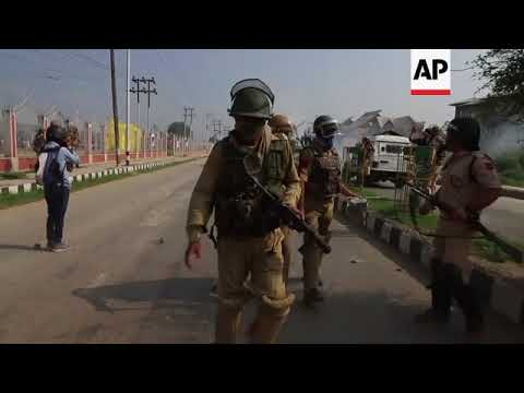 Violent clashes mar Eid celebrations in Indian-controlled Kashmir