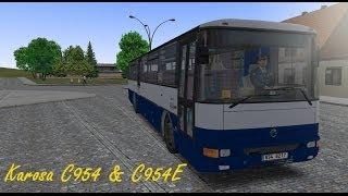 OMSI 2 - Karosa C954 & C954E - Dolní Kounice 2.0