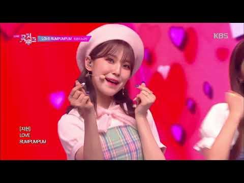 LOVE RUMPUMPUM - 프로미스나인 (fromis_9) [뮤직뱅크 Music Bank] 20190719
