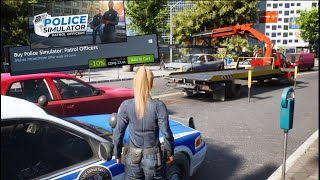 Open World Police Simulator 2021 - Towing First Car!!  Is It Worth $28?